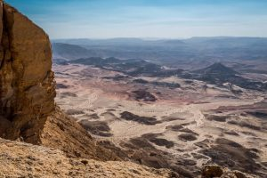 Exploring Makhtesh Ramon in Israel